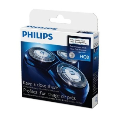 PHILIPS HQ8/51 S Shaver Replacement Heads for HQ7300/HQ7200/HQ7100 series