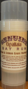 Two (2) Genuine Ogallala Bay Rum Rum and Lemongrass shaving sticks. This is a version of our popular Genuine Ogallala Bay Rum Shaving Soap in Shaving Stick form.