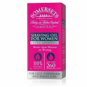 Somersets Extra Sensitive Shaving Oil for Women 35ml