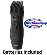 Panasonic All-In-One Cordless Hair, Beard & Body Trimmer With High-Performance Stainless Steel Blade, 5 Position Adjustable Cutting Length, Wet/Dry Operation, Blade Oil & Cleaning Brush