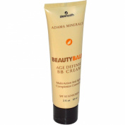 Adama Minerals Beauty Balm, Age Defence BB Cream, SPF 30 Sunscreen, 2 fl. oz, 60 ml