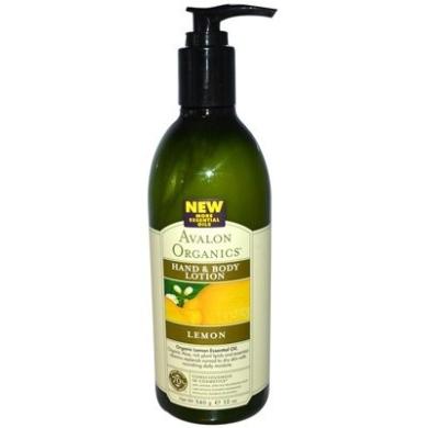 Avalon Organics Hand and Body Lotion Lemon - 350ml