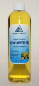 Sunflower Oil Organic Carrier Cold Pressed Unrefined Pure 710ml