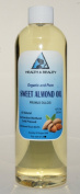 Sweet Almond Oil Organic Carrier Cold Pressed 100% Pure 710ml