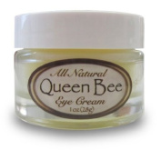 Queen Bee 100% All-Natural, Organic Under Eye Cream - Removes Dark Circles, Facial Lines and Wrinkles Naturally - 1oz