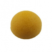 Yellow Face Washing Cleansing Pad Sponge Natural Konjac Cosmetic Washing Puff