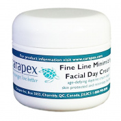 Carapex Facial Day Cream with Fine Line Minimizer, Anti-ageing Daily Moisturiser, All Natural Ingredients, 60ml