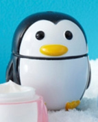 Two's Company Penguin Hand Cream, Choice of Colour