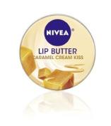 Nivea Lip Butter Loose Tin, Caramel Cream Kiss, 15ml