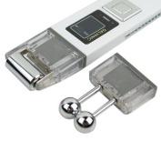 Segawe Microcurrent Galvanic Face Lift Ion Skin Spa Device Kd9000 Beauty Device - White - 5.9x1.5x0.7