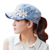 Female UV sun hat Cowboy hat Lady summer outdoor sports visor cap Women Baseball cap Peaked cap