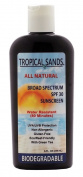 Mexitan Tropical Sands SPF 30 All Natural Biodegradable Water Resistant Sunscreen, 240ml