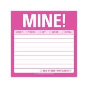 Mine! Sticky Note
