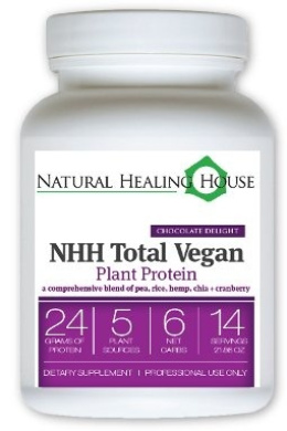 NHH Total Vegan Plant Protein shake Chocolate Delight (14 servings)
