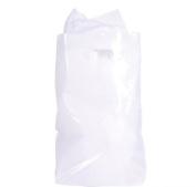 50 ~ White Plastic Bags ~ 22cm X 30cm ~ New ~ Loot Bags, Party Favour Bags