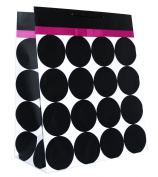 Black Polka Dots and Pink Ribbon Bow Gift Bag - 3KHB 285J