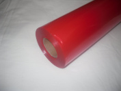 10m x 80cm Roll Tinted Red Cellophane Wrap. Florist Quality Bouquet / Gift / ...
