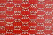 """Gift Wrapping Paper - Butterfly design with """"Good Luck"""""""