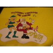 Drunk Santa Gift Wrap
