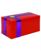 Gift wrapping for your purchase (red w/purple ribbon)-extra day to ship