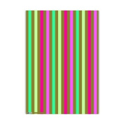 Christmas Holiday Gift Wrap Paper Roll, Roger La Borde Divine Stripes