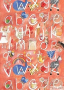 Alphabet Girl Gift Wrapping Paper