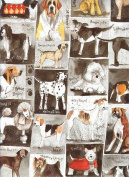 Dog Squares Gift Wrapping Paper