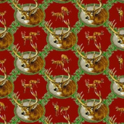 River's Edge Whitetail Deer Wrapping Paper, 70cm x 200cm