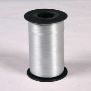 Decorating Curling Ribbon Silver-grey Roll