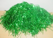 Benross Green Lametta For Gift Packing/arts & crafts Assorted Colours