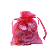 Coral Sheer Organza Pouch (12)