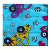 Peace Cars tissue paper