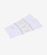 Gift Wrap Bag Tissue Paper White Foil Sequin Sparkle 20 Sheets 50cm x 50cm