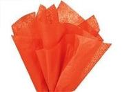 Bulk Tissue Paper Orange 50cm x 80cm - 48 Sheets