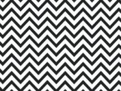 Black Chevron Wrap Tissue Paper 50cm X 80cm - 24 Sheets