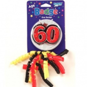 Stick On Badge 60th