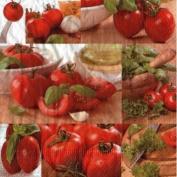 Fresh Tomato Basil Designer Napkins