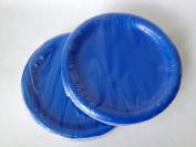 Blue Paper Party Plates 18cm - (48) Plates!