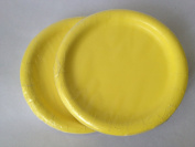 Yellow Paper Party Plates 18cm - (48) Plates!