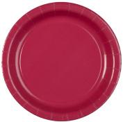 Creative Converting Hot Magenta 7 Paper Dessert Plates - 8 ct