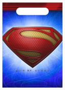 Superman Party Favours - Superman Goody Bags - 8 Count