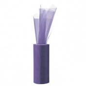 Purple Large Tulle Roll - 4th of July & Float Decorations