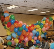 Balloon Drop Net Boss2000EZ, Holds 2000 23cm or 1000 28cm