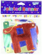 Happy 50th Birthday Jointed 6-Foot Banner