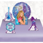 Hannah Montana Birthday Star Air-filled Decorative Balloon Centrepiece with Fun Cut-outs