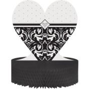 Ever After Wedding Honeycomb Centrepiece