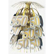 50th Anniversary 46cm Cascade Centrepiece