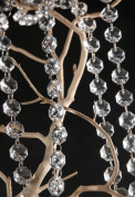 10 Metres Iridescent Crystal Acrylic Gems Bead Strands Wedding Table Centrepieces Wishing Tree Garland