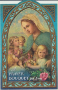 Novena of Rosaries Holy Prayer Card