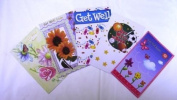 Assorted Get Well Greeting Cards 30 Pack